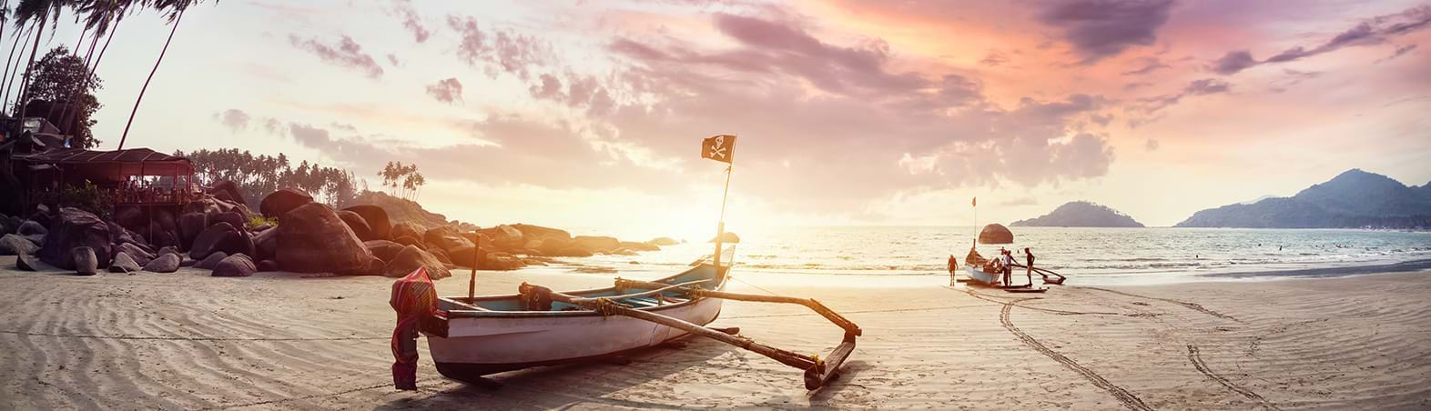 The Sunkissed Shores of India
