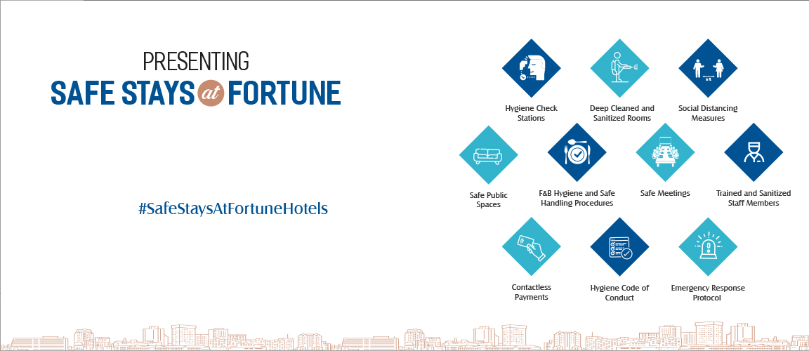 Safe Stays at Fortune Hotels