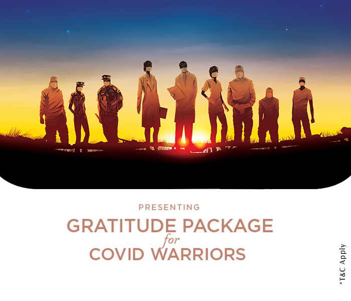 Gratitude Package for COVID Warriors