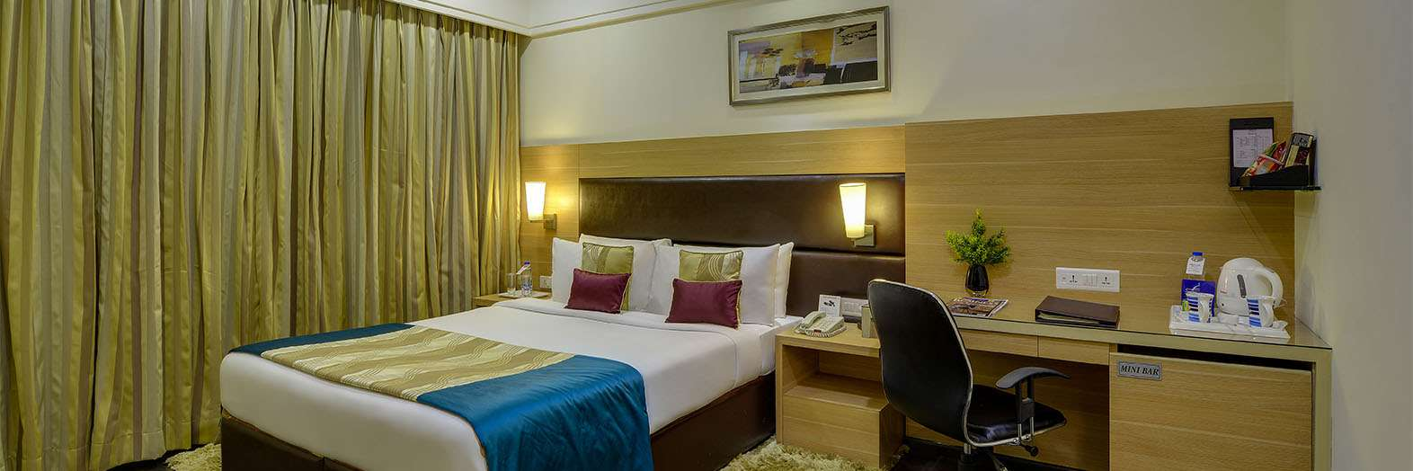Fortune Park Galaxy – Hotels in Vapi Room