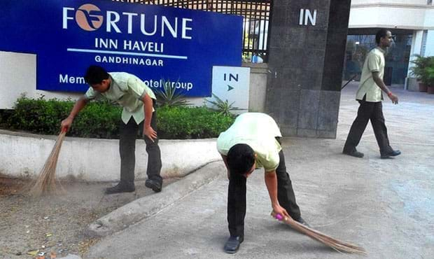 Fortune Inn Haveli, Gandhinagar - CSR Initiative
