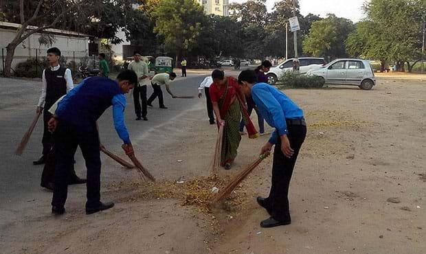 Fortune Inn Haveli, Gandhinagar - CSR Initiative