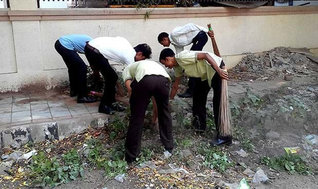 "Fortune Inn Haveli - ""Swachh Bharat"" campaign"