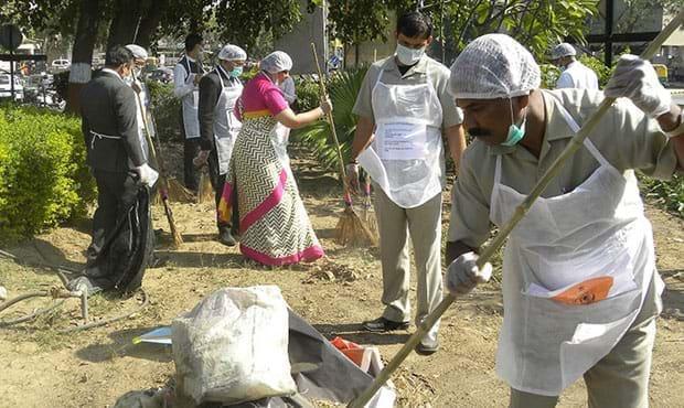 Fortune Landmark, Ahmedabad - CSR Initiative