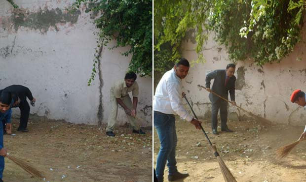 "Fortune Select Global - ""Swachh Bharat"" campaign"
