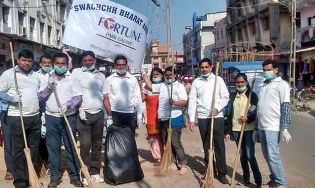 "Fortune Park Galaxy - ""Swachh Bharat"" campaign"