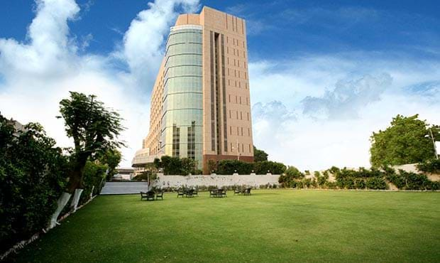 Lawn in Fortune Select Global Gurgaon
