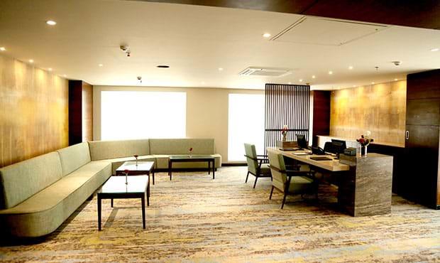 Lobby Desk Area